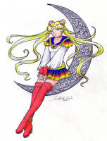 Wild Card-Imperial Sailor Moon by SarahsPlushNStuff