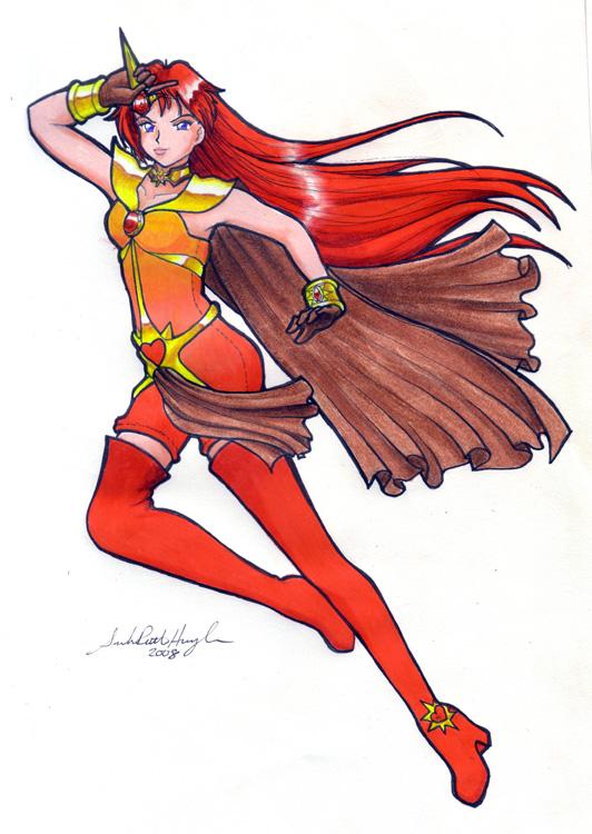 Sailor SunHeart by sakkysa