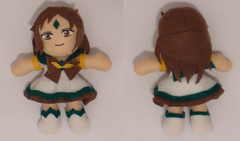 Sailor Earthangel Plushie by sakkysa