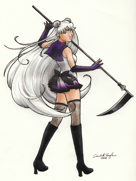 Sailor Dark Moon by sakkysa