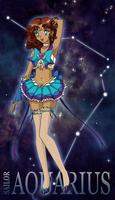 Sailor Zodiac: Aquarius by SarahsPlushNStuff