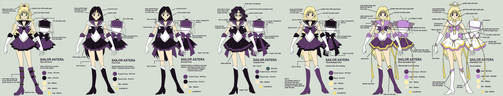 Sailor Astera Reference by sakkysa