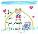 Sakky Draws Sailor Moon
