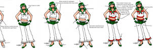Sailor Helix: Step by Step by SarahsPlushNStuff