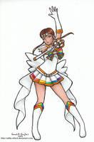 Super Sailor Golden Star by SarahsPlushNStuff