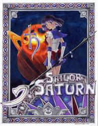 Sailor Saturn by SarahsPlushNStuff