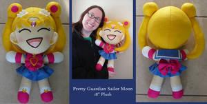 PGSM - Sailor Moon Plushie by SarahsPlushNStuff