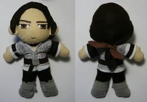 Ezio Plushie - ACII by SarahsPlushNStuff