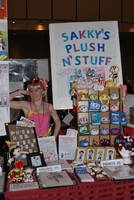 My 2011 Anime Boston Table by SarahsPlushNStuff
