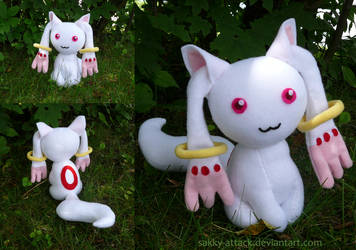 I'm Too Sexy - Kyubey Plush by SarahsPlushNStuff