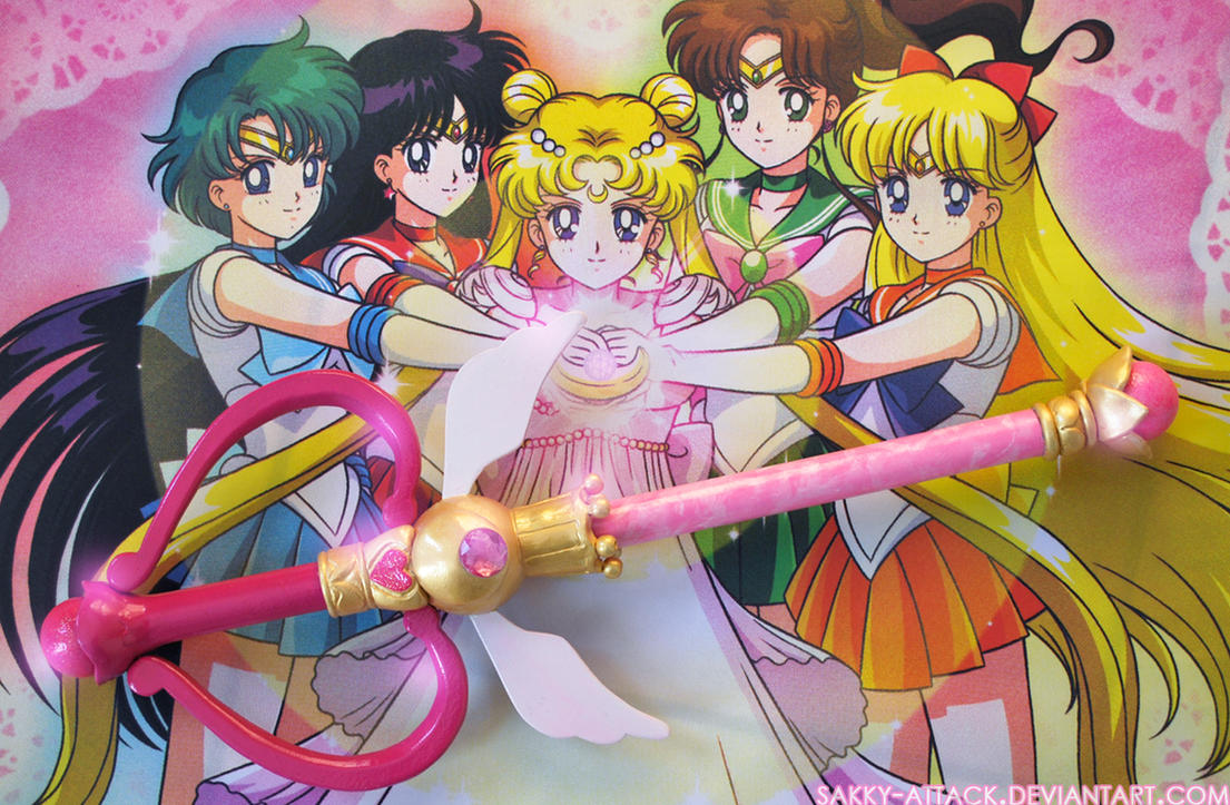 Kaleidomoon Scope - Sailor Moon SuperS Wand by sakkysa