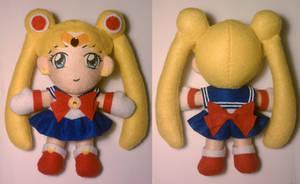 Sailor Moon R Plushie by SarahsPlushNStuff