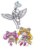 Sailormoon SuperS Chibi Love by SarahsPlushNStuff