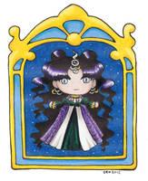 Sailormoon SuperS Chibi Nehellenia by SarahsPlushNStuff