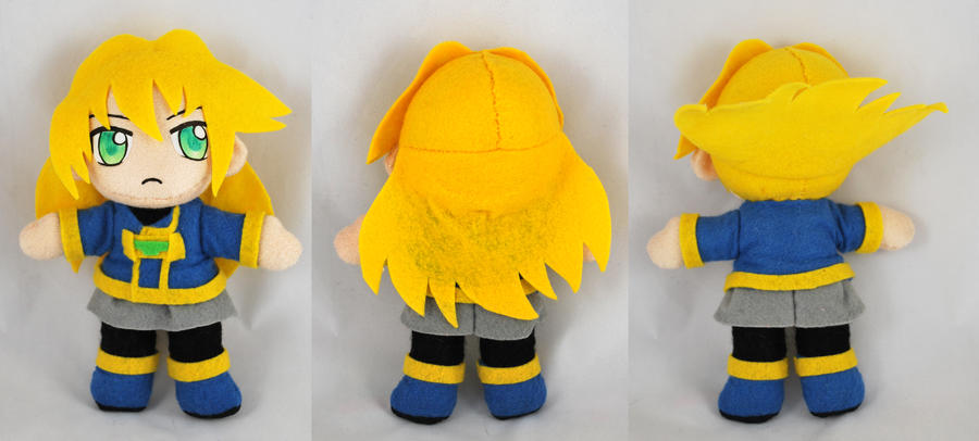 Sora Plush - Acceleration of Suguri by sakkysa