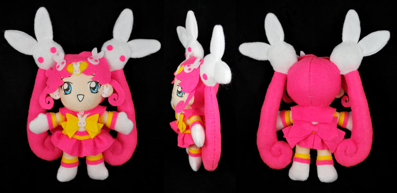 Kousagi AKA Parallel Sailor Moon Plush by sakkysa