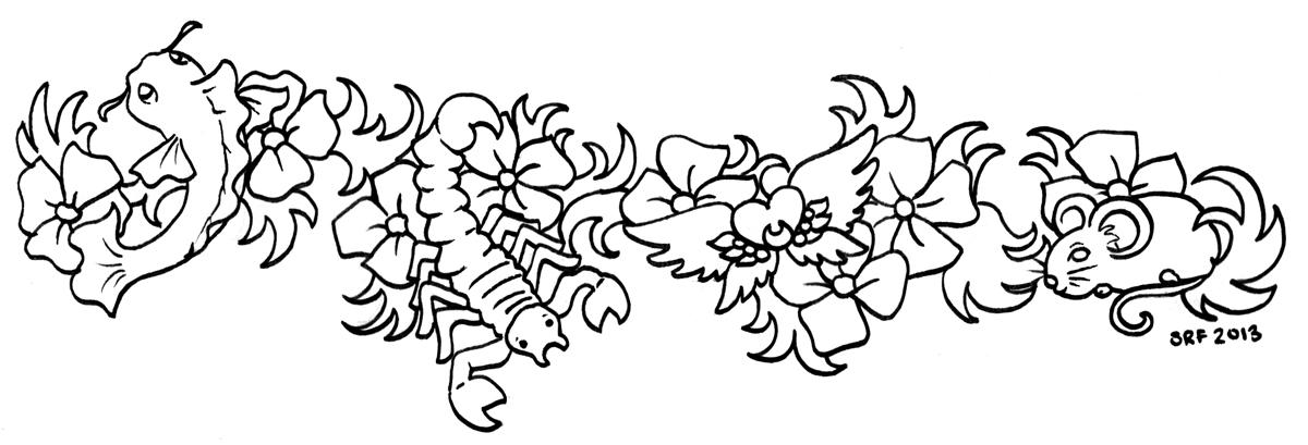 LittlestKoi Tattoo by sakkysa