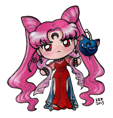 Wicked Grumpy Lady by sakkysa