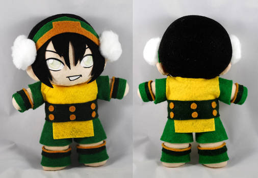 Toph Plush - Avatar: The Last Airbender