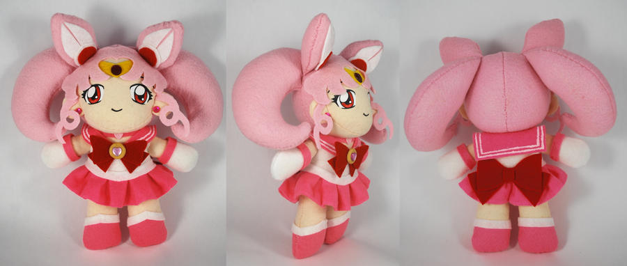 Sailor Chibimoon Plush by sakkysa