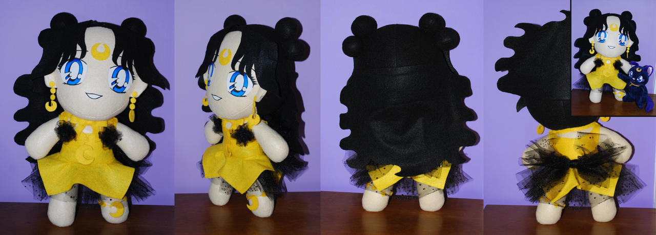 Human Luna Plush - Sailor Moon by sakkysa