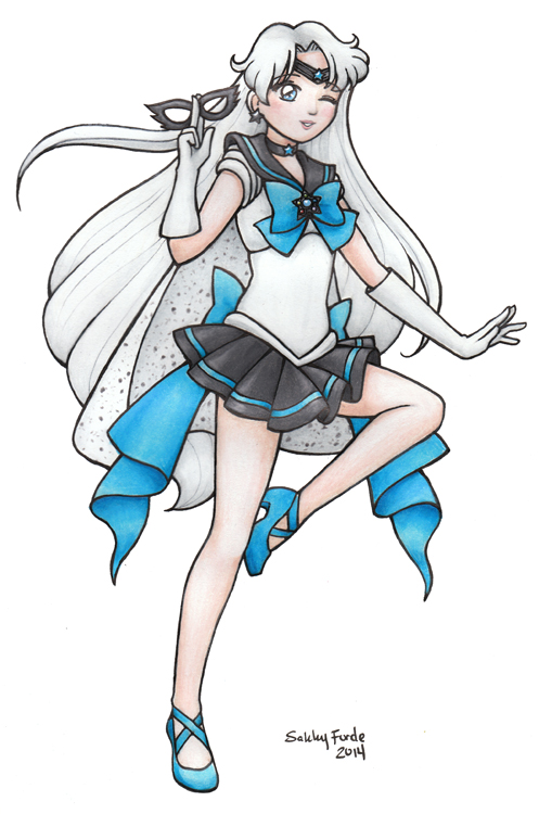 Sailor Cosmic by sakkysa