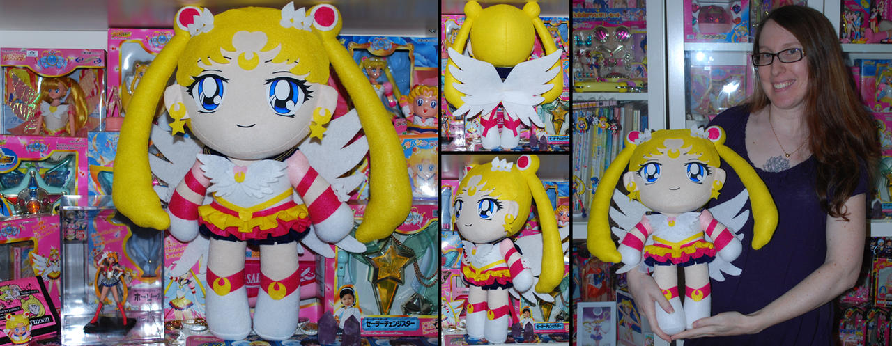 Eternal Sailor Moon Plush 2014 by sakkysa