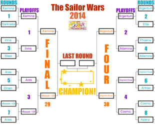 2014 Sailor Wars by SarahForde