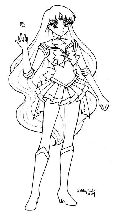 Sailor Astera - Sailor Moon Crystal by sakkysa