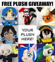Sakky's 5th Annual Free Plush Giveaway! LAST CALL by SarahsPlushNStuff
