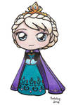 Coronation Elsa by SarahsPlushNStuff