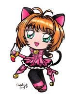 Chibi Sakura by SarahsPlushNStuff