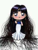 Chibi Mistress 9 - Sailor Moon by SarahsPlushNStuff
