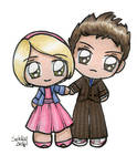 Rose and The Doctor by SarahForde