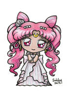 Princess Small Lady Serenity Chibi by SarahsPlushNStuff