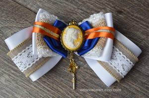 Rustic Princess Sailor Venus Hair Bow by SarahForde