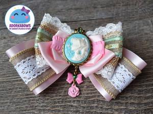 Sailor Jupiter Princess Rustic Hair Bow