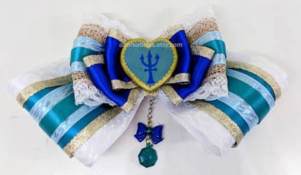 Rustic Princess Sailor Neptune Hair Bow