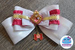 Sailor Moon - Sailor Chibimoon Custom Hair Bow by SarahForde