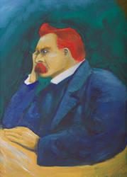Nietzsche by Griliopoulos