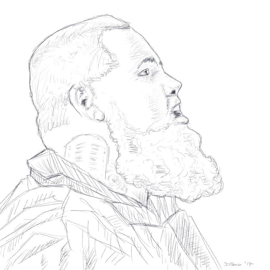 Rag'n'Bone Man sketch by phtorxp