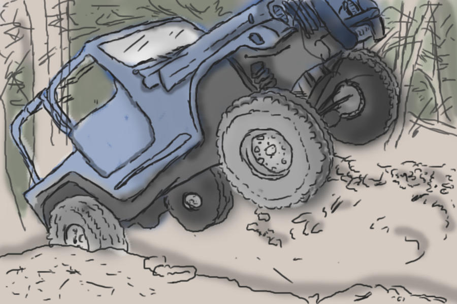 Simple Jeep Draw by Whathehell13 on DeviantArt