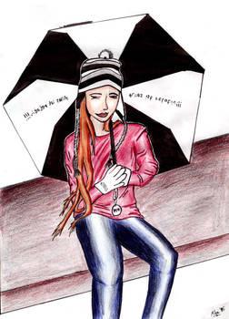 Miss Black and the Umbrella 2