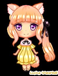 Gift: Mini Chibi Skylar by Lucina-Waterbell