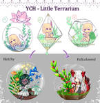 YCH - Little Terrarium [OPEN 3/4]