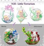 YCH - Little Terrarium [OPEN 3/4] by Lucina-Waterbell