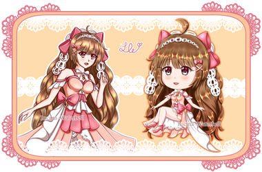 Human Adopt - Sweet Ribbons AUCTION [OPEN] by Lucina-Waterbell