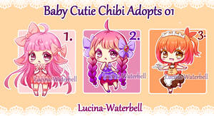 Baby Cutie Chibi Adopts 01 - OPEN (2/3) SALE