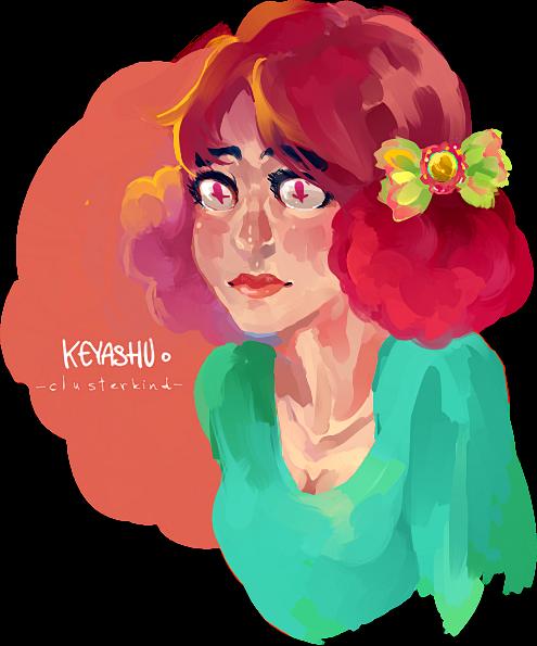 Clownhair by KeYashu