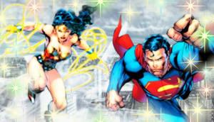Princess Diana and SuperMan